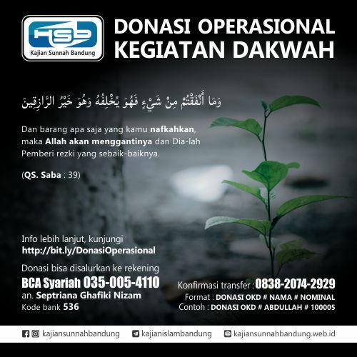 Donasi Operasional