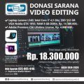 Donasi Video Editing