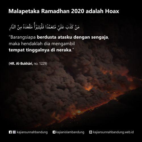 malapetaka ramadhan 2020