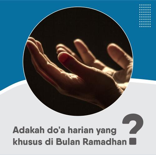 adakah doa harian di bulan Ramadhan