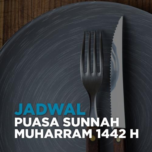 jadwal puasa sunnah muharram 1442 h